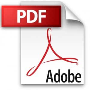 pdf files are required for artwork by most printing services companies
