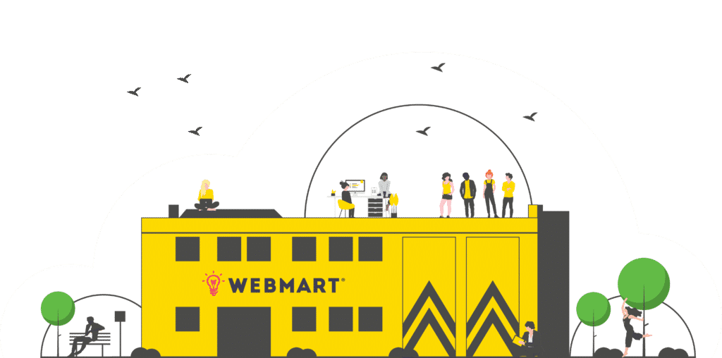 Webmart Yellow Shed HQ