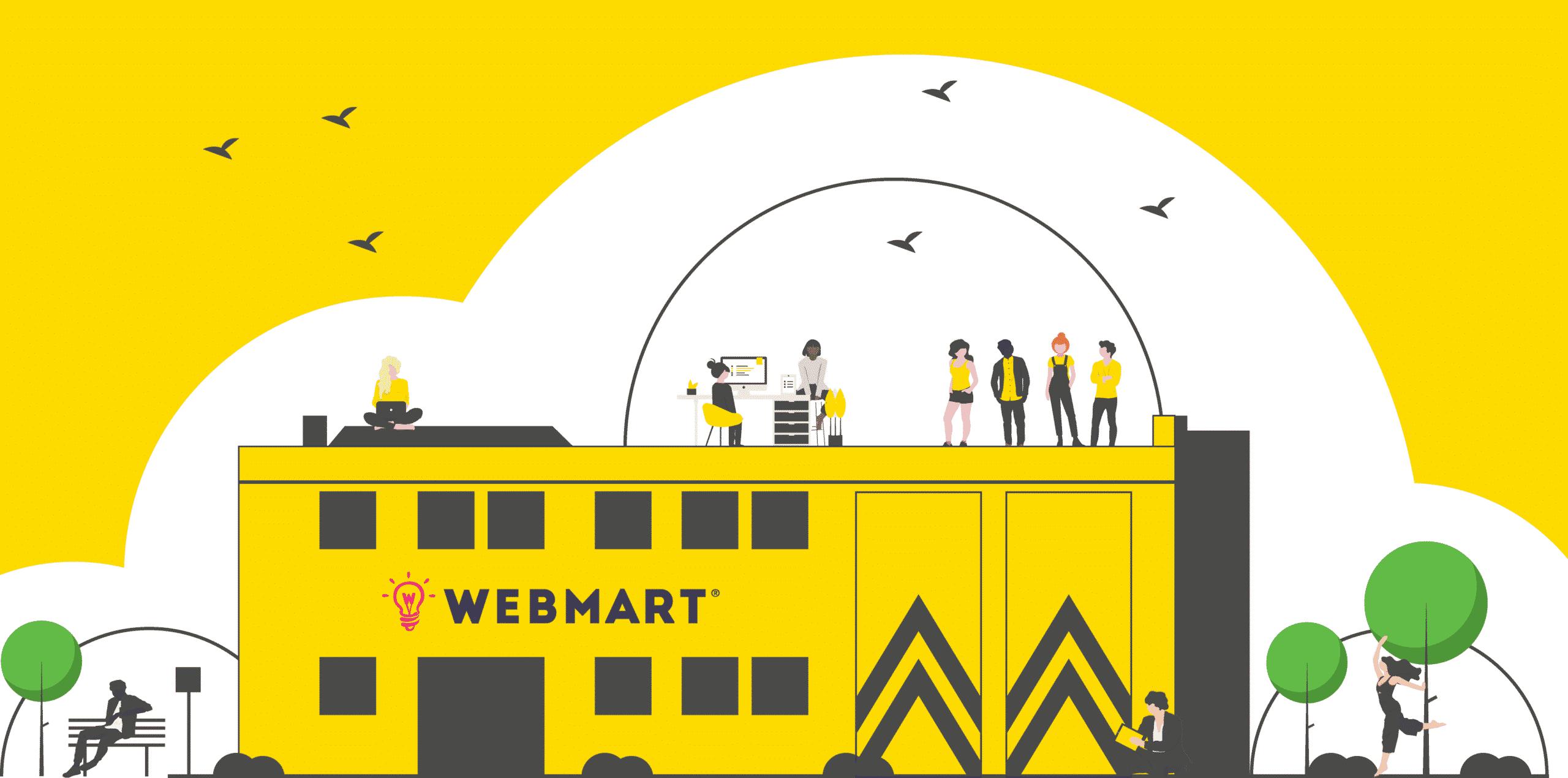 Webmart Yellow Shed of Wonderment