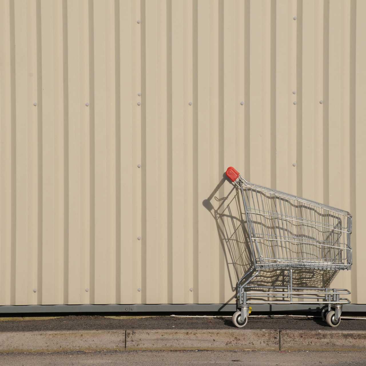 abandoned basket