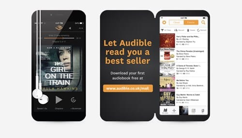 audible printed product