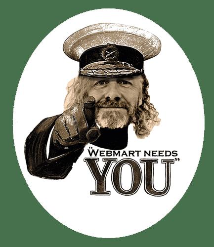 Webmart Needs you